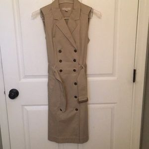 Banana Republic khaki dress
